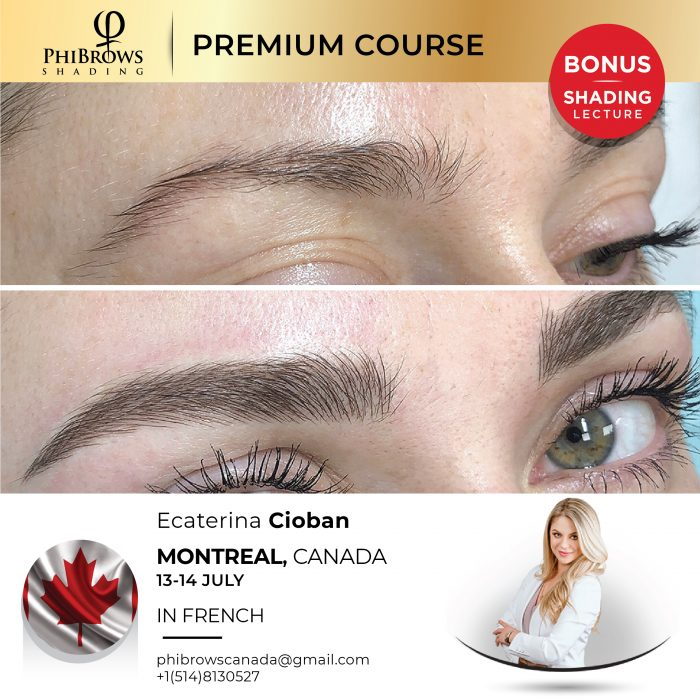 Phibrows Microblading Course Montreal, CA 2021 – Jul 13