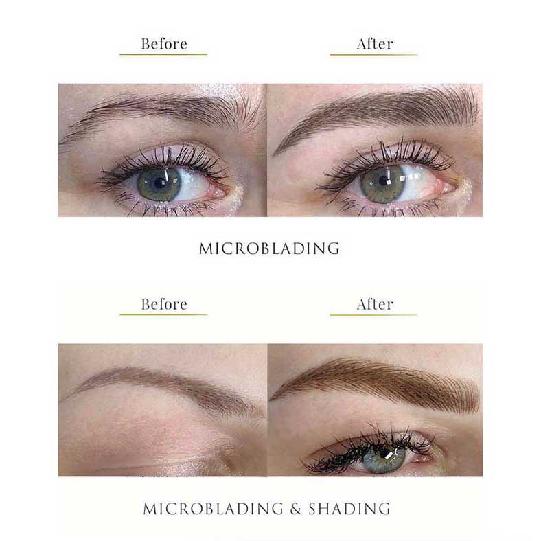 Learn microblading and machine shading technique