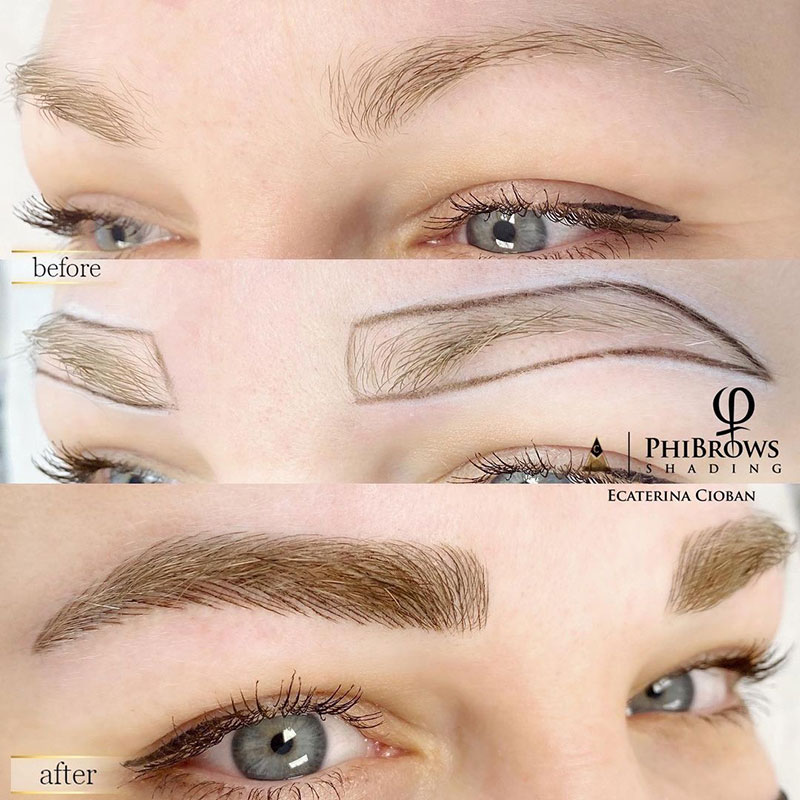 Microblading course in Montreal